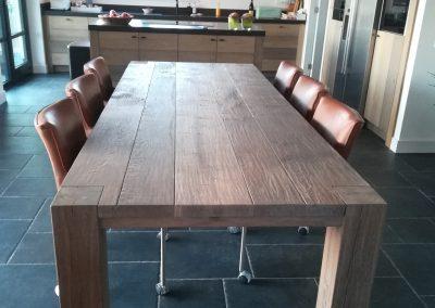 Gerookt Eiken Tafel : Tafels abitare meubelen