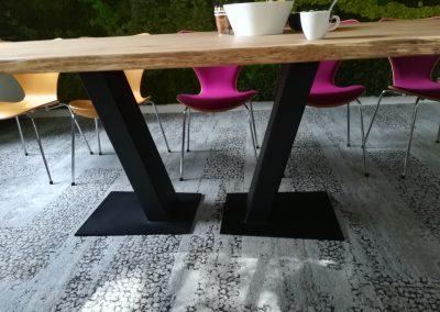 Eiken tafel Oosterbeek